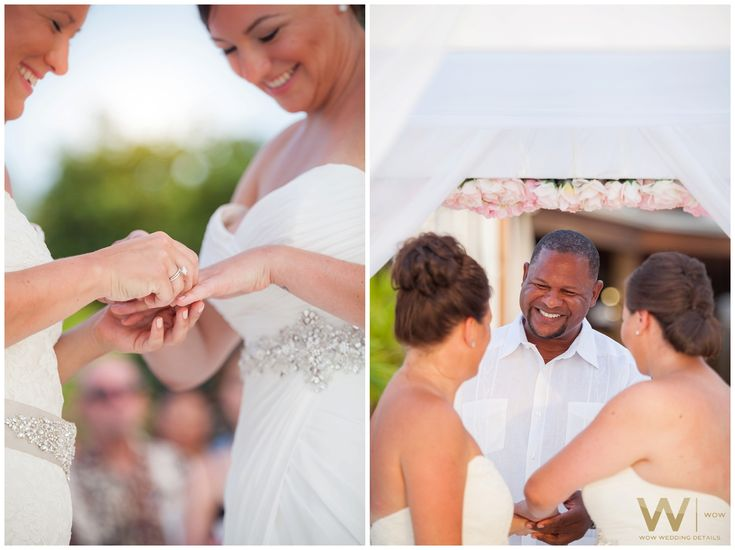 Wedding Ceremony - Wedding Photography @ Divi Resort & Occidental Aruba - Same Sex Wedding