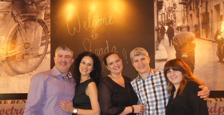 The Robertos, welcoming you to Strada West!