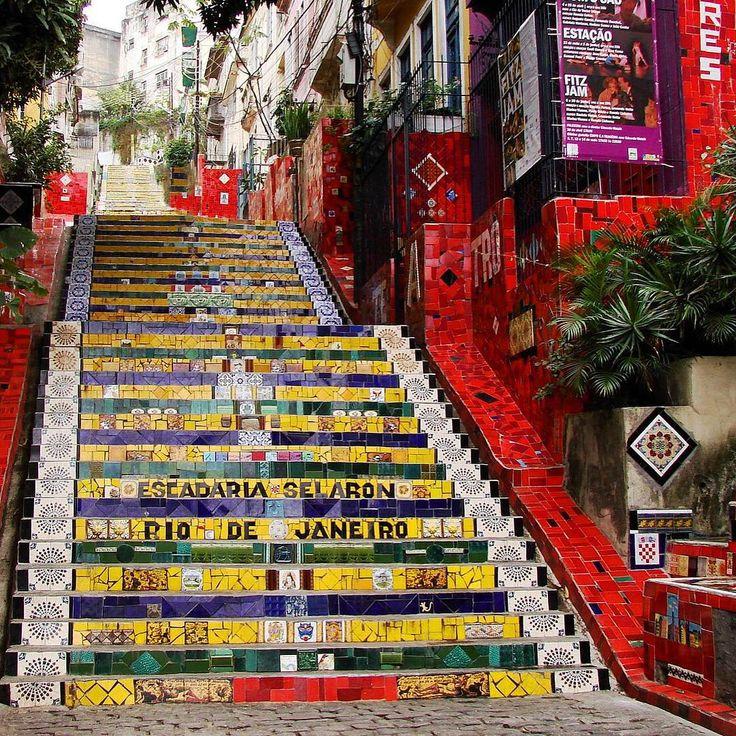 Escadaria Selarón || #Rio