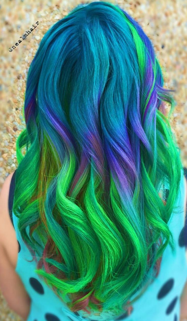 Colorful Hairstyles Stunning 1568 Best Colorful Hair Images On Pinterest  Colored Hair Coloured