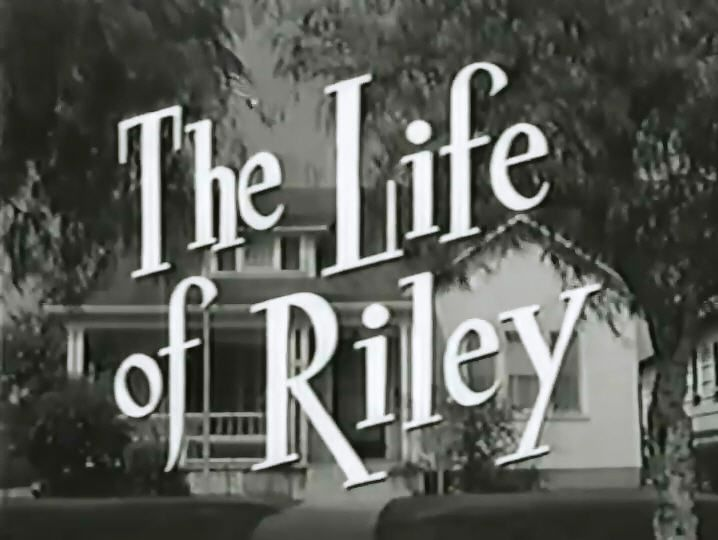 If you were born in 1953, your family possibly gathered around the TV every week on Friday night and watched the new show on starting Jan of that yr -  The Life Of Riley. In 1953 the original Riley from radio days, William Bendix, assumed the TV role, and it was a hit, running for 6 seasons.