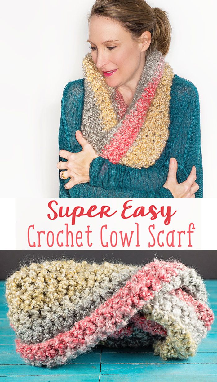 774 best crochet cowls images on pinterest couture tricot this easy to crochet simple cowl scarf is made with a chunky home spun bankloansurffo Gallery