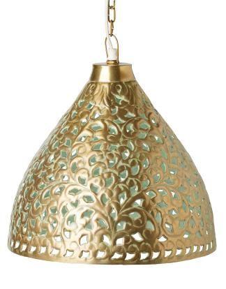 CHANTILLY lampa mässing Indiska.se
