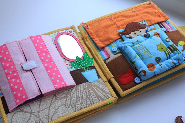 Handmade by mom: Quiet book