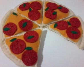 fatia pizza de tomates
