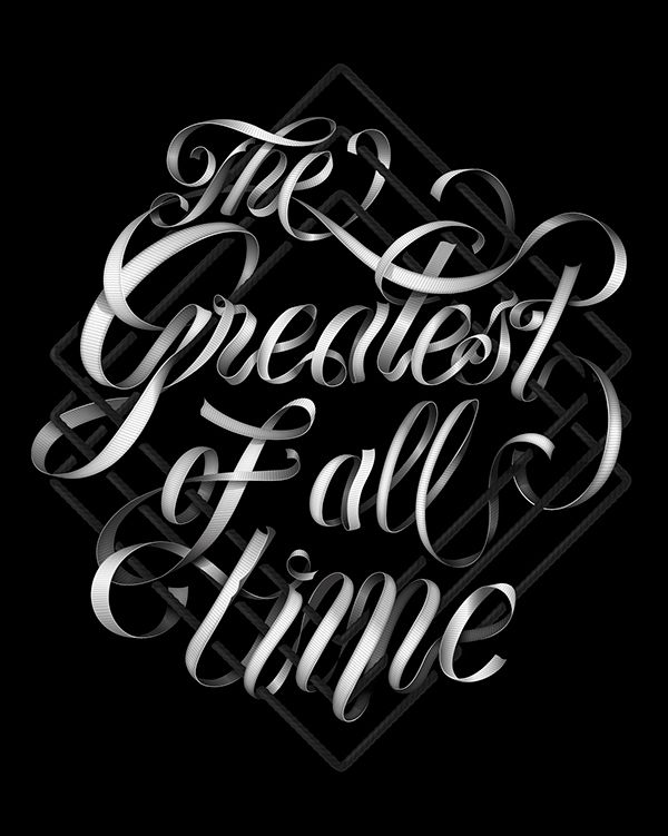 The Greatest of all Time on Behance