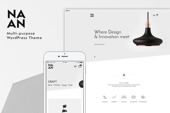 Naan - Multi-purpose WP Theme by mindlessguys on @creativemarket