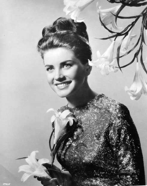 Dolores Hart, who quit show business to become a nun.