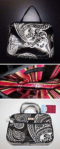 Gigi Bags. Gigi Hill Jayne Noir Large Makeup Bag Cosmetics Bag.  #gigi #bags #gigibags