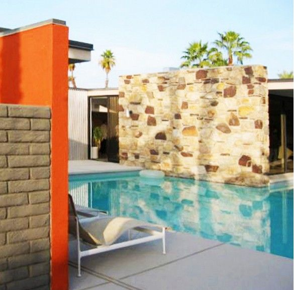 I'm very inspired by the annual Palm Springs Modern Heritage Fund home tours, which usually take place in November. We've been going on the tours for 10-plus years!