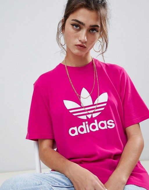 Logo Originals 2019Dream Trefoil Adidas In Closet T Pink Shirt QChrxosdtB