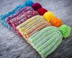 bonnets au tricot plein de tutos