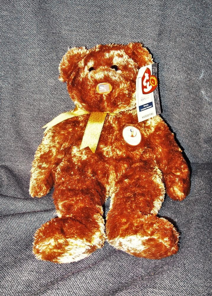 ef5fa2ee919 2002 FIFA World Cup Champion the Beanie Buddy United States Bear New with  Tags  Ty