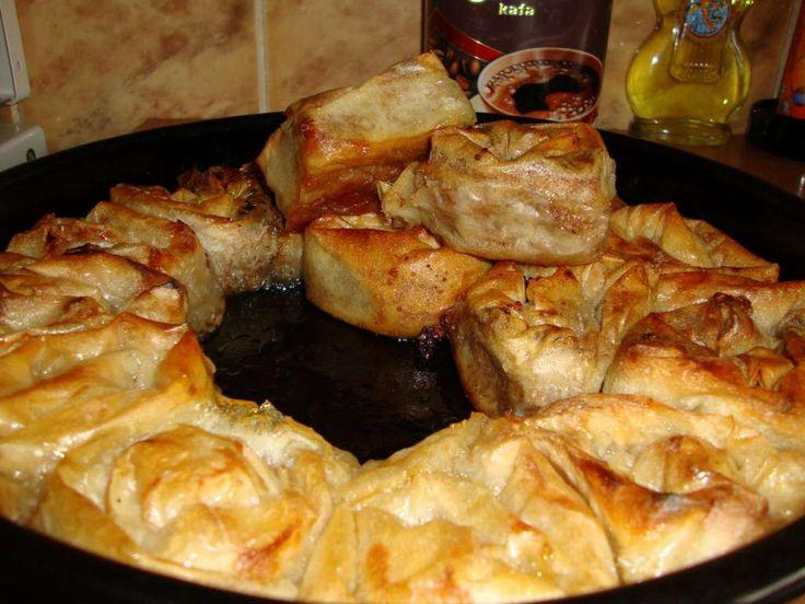Sočna pita sa jabukom i orasima