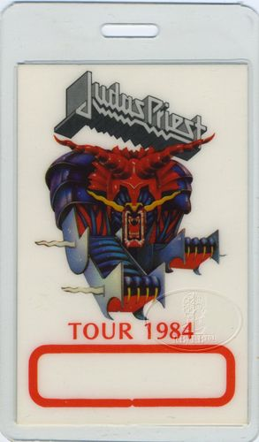 Judas Priest Tour Pass https://www.facebook.com/FromTheWaybackMachine