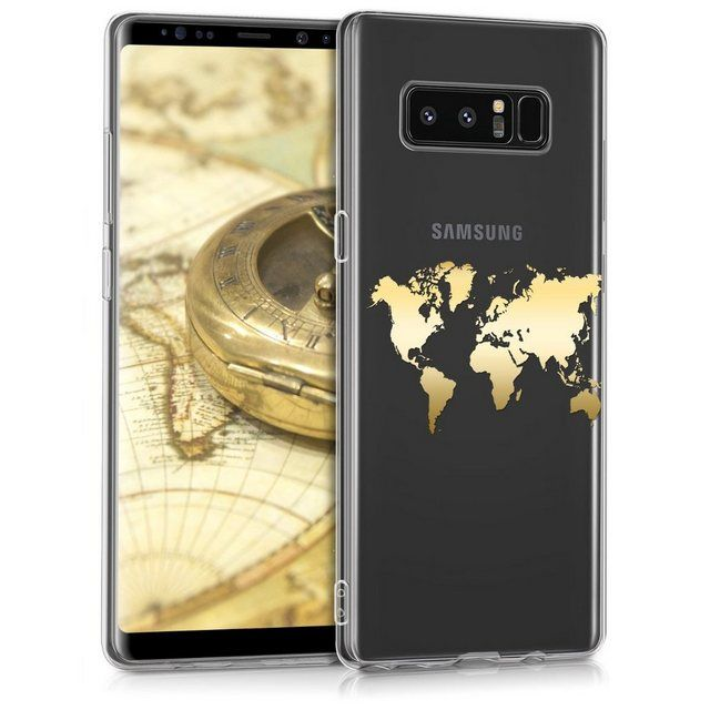 Kwmobile Handyhulle Hulle Fur Samsung Galaxy Note 8 Duos Tpu Silikon Handy Schutzhulle Cover Case Travel Umriss Design Online Kaufen Handy Schutzhulle Samsung Galaxy Note 8 Galaxy Note
