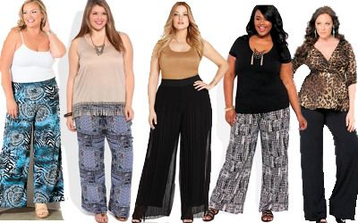 Plus Size Palazzo Pants. This will be my summer staple!