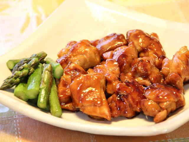 【カット肉使用】鶏肉のはちみつ照り焼きの画像