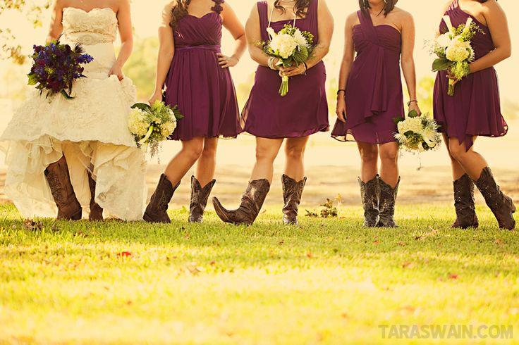 Best 10 Bridesmaids Cowboy Boots Ideas On Pinterest