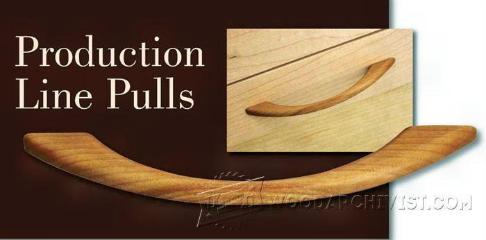Making Wooden Drawer Pulls - Drawer Construction Techniques | WoodArchivist.com