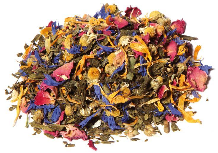 Funky Flower Bio Tee - Eine aufregend-blumige Mischung mit saftigem #Granatapfel und spritziger #Grapefruit, die Lust auf mehr macht. #tee #tea #Bio