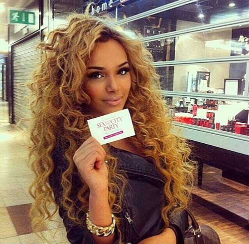 Blonde Deep Wave Weave
