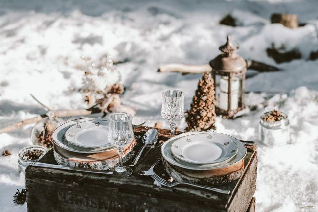 Une inspiration romance en montagne pour un mariage en hiver Image: 20