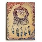 """9 in. x 12 in. """"The Dreaming Tree"""" by Jennifer Lee Solid Wood Wall Art"""