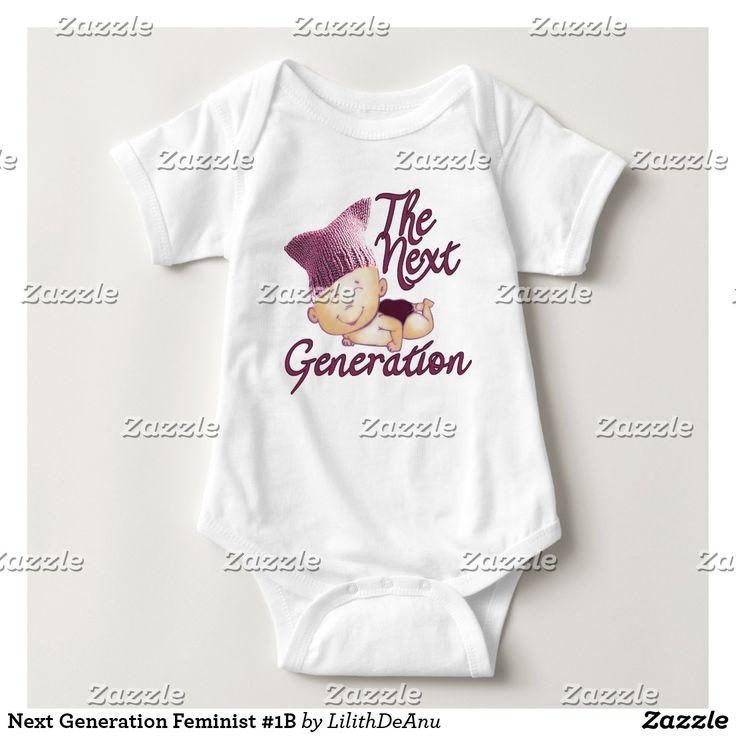 Next Generation Feminist #1B Baby Bodysuit