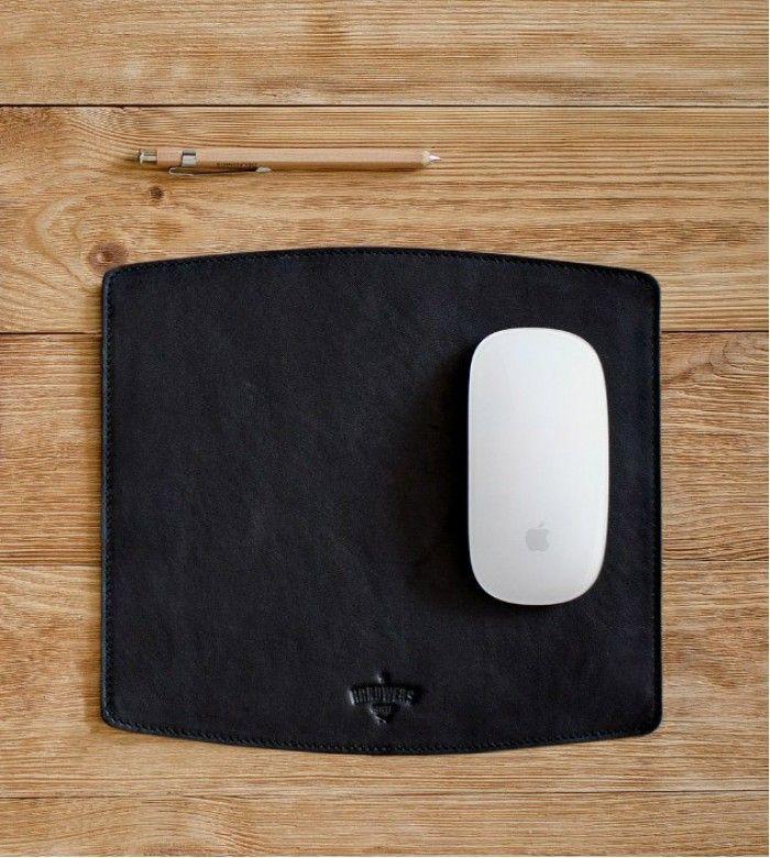 Коврик для мыши Surface, из натуральной кожи ручной работы от Handwers.