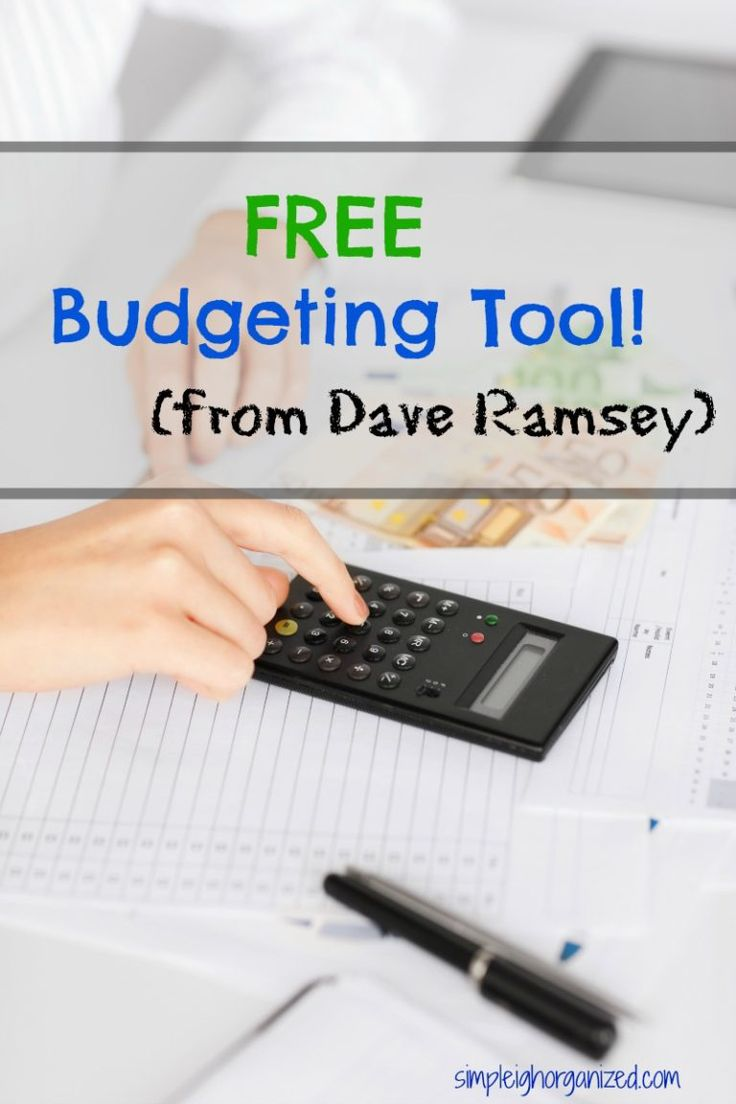 I've been trying out Dave Ramsey's FREE budgeting tool and so far so good!!
