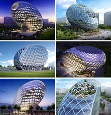 Egg-Shaped Architecture