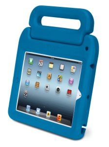 Perfect for little hands to safely carry your iPad around the house without risk of smashing it to smithereens!  Just £25.49 (a massive £31.64 saving)  http://childproofmytablet.com/kensington-safegrip/  #kensington #safegrip #ipad #shockproof