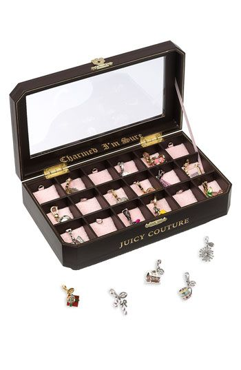 Juicy Couture Charm Box! I need this to hold all my charms!