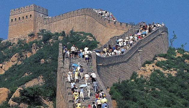 ¿Sabías qué?  La muralla china fue la construcción que empleó más trabajadores en la historia. Se estima que en total trabajaron aproximadamente 800.000 personas. Visitanos: www.ibercons.com.co