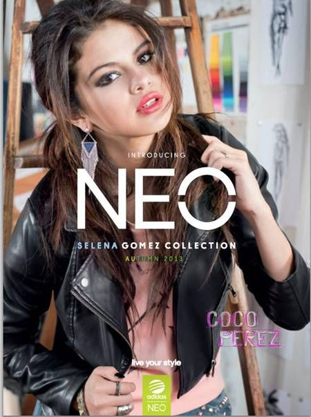 Selena Gomez's personal collection for Adidas NEO is here!