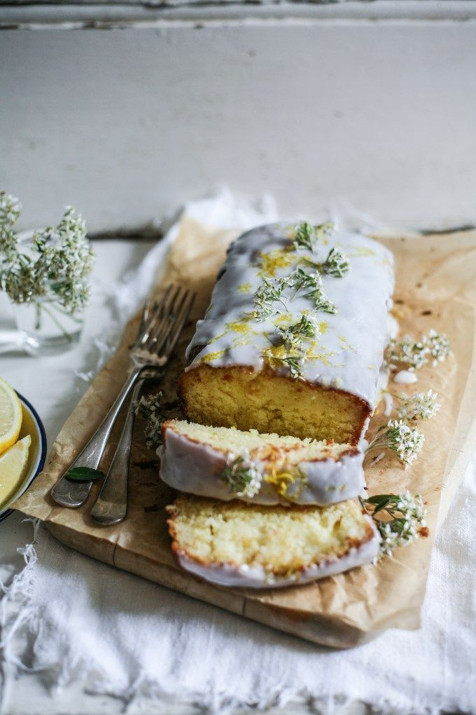 Lemon & Elderflower Drizzle Cake – Daisy and the Fox