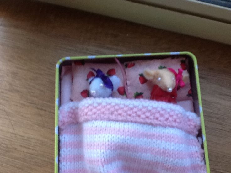 Hand made mice ,pillow,rug and matrices