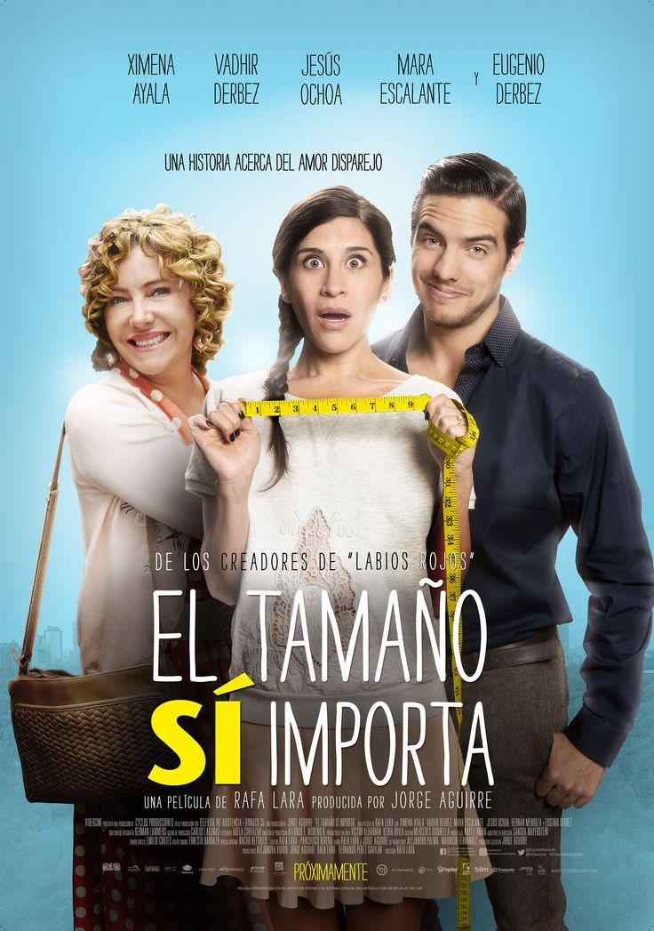 """VIDEOCINE nos presenta su nueva película mexicana de comedia romántica de Rafa Lara, junto con un gran elenco en: """"El tamaño si importa""""."""