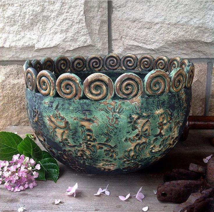 Large bowl by Barakee Pottery