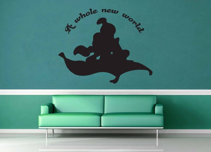 A Whole New World - Aladdin Quote - Wall Decal | Products ...
