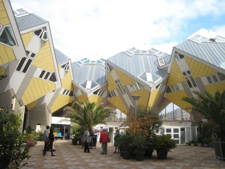 Top 10 Eccentric Buildings Cube Houses Rotterdam