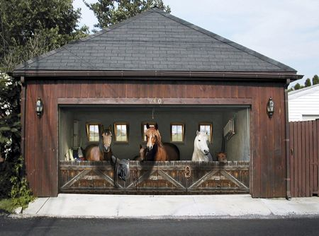 81 Best Images About Art Painted Garage Doors On Pinterest