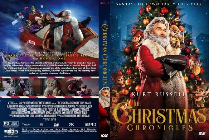 The Christmas Chronicles 2018 Dvd Cover.The Christmas Chronicles 2018 Dvd Custom Cover Custom
