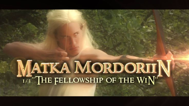 "Time Films Original Web Series ""Matka Mordoriin"" (ENG: Trip to Mordor) follows the adventures of International Success Company's attempt to walk 42 km to a place called Mordor, Nurmijärvi and shoot a Lord of the Rings movie at the same time.  Genre: Comedy, Mockumentary"