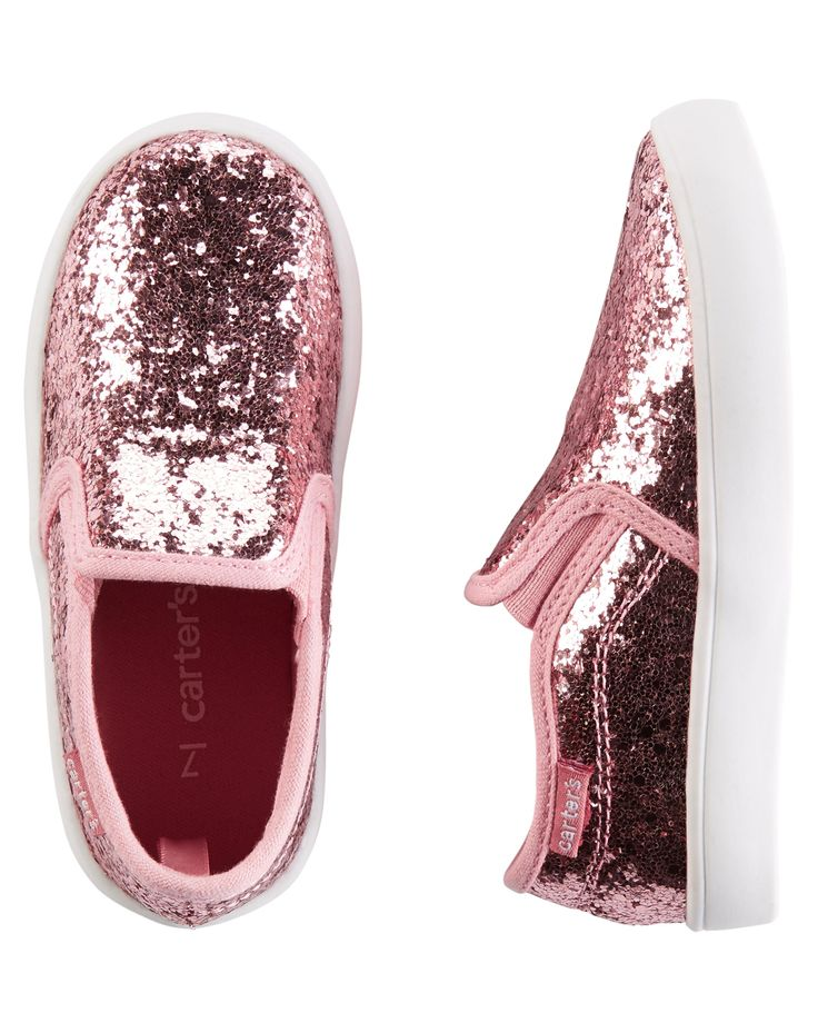 Carter's Sparkle Slip-On Shoes | Carters.com