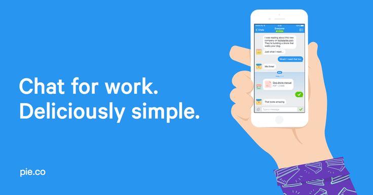 'Pie' is een heel gebruiksvriendelijke site/tool. Het concept is zeer eenvoudig en ook efficiënt. Het bied mensen (vaak gebruikt voor het werk) de mogelijkheid te chatten/berichten te sturen naar elkaar op een eenvoudige manier. Je kan op pie afbeeldingen delen, bellen en bestanden doorsturen. Deze tool vind ik het meest bij het aspect communicatie passen, logisch als je kan communiceren via deze tool.