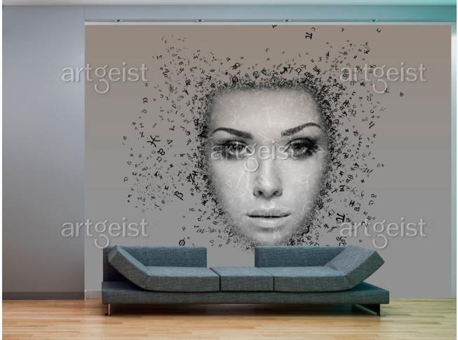 Papier peint Afflux de pensées #papiers #peints #papier #peint #decor #design