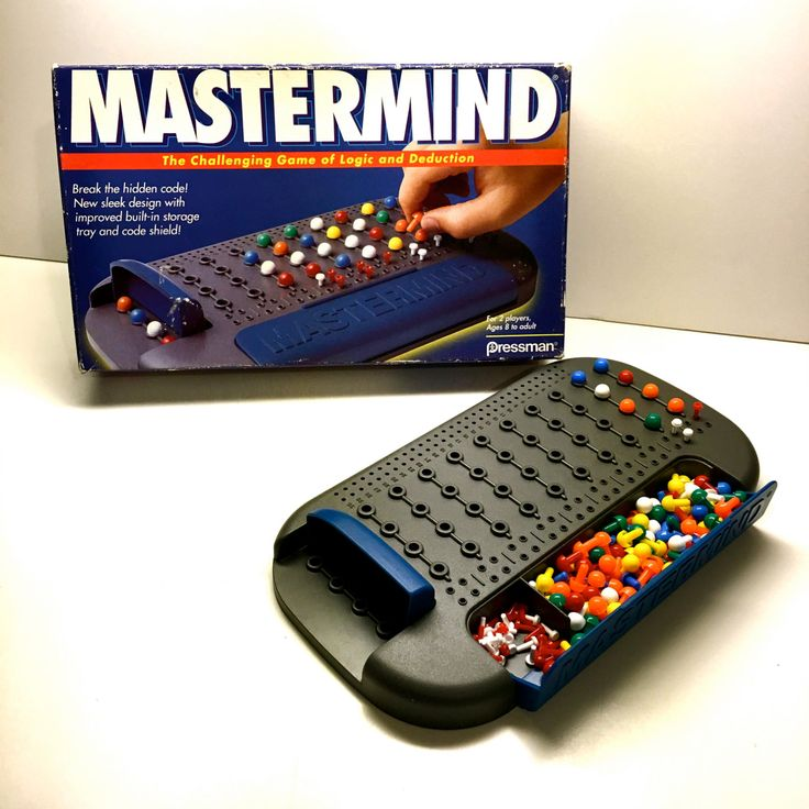 45+ Mastermind game online two player info