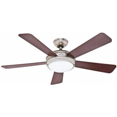 "Westinghouse Lighting 52"" Zander 5 Blade Indoor Ceiling Fan with Remote & Reviews | Wayfair"